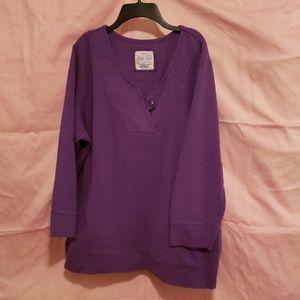 22/24 Avenue 3/4 sleeve pullover